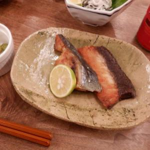夕食はハマチのあらを2種の料理で・・No.1693