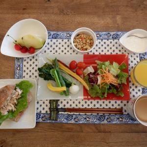 朝食しっかり摂取!
