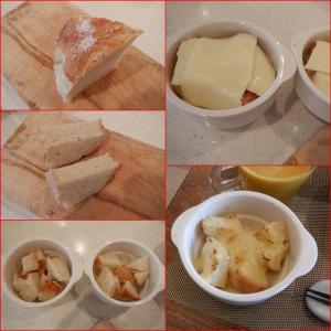 コウジ ラボ パタジェさんのパンでチーズトースト!