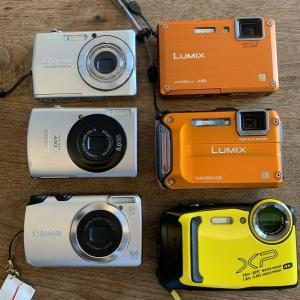 11年間で使用したカメラ達!
