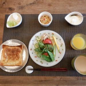 朝食はタマゴ香るフレンチトーストを!