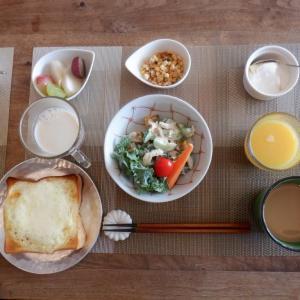 我家の朝食!