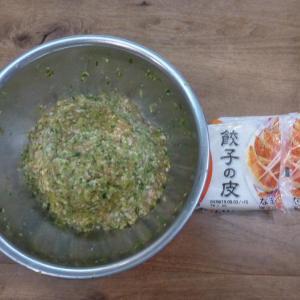 夕食は孫大好きな「餃子」「手羽中の塩焼」!