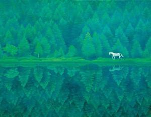 女神湖と御射鹿(みしゃか)池