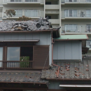 被災地鋸南町:或る家の被害状況
