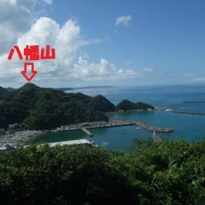勝山城址と八幡神社