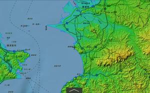 磯根岬の地形を考える