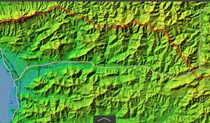 鋸山と明鐘岬の地形について考える