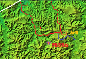 梨沢渓谷の地形を考える