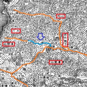 大六のトンネル探索