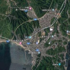 勝浦の地形を考えてみる