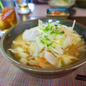 プノンペンで食べる日本のラーメン@Shangri-la