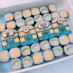 夏休み中の子供向け飾り巻き寿司レッスン