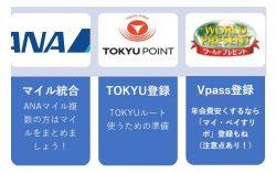 【TOKYUルート】カード届いたらやるべきこと/ANA TOKYU POINT ClubQ PASMO マスターカード