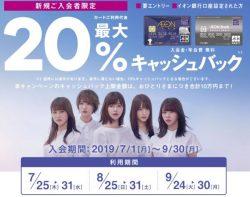 【2,250円相当】話題のイオンカードがECナビで追加で1000円あげちゃうキャンペーンです!