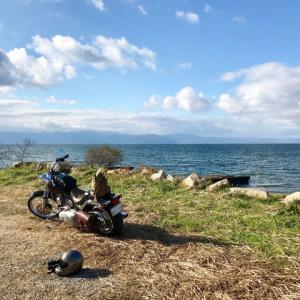 鳥見ツー2   琵琶湖