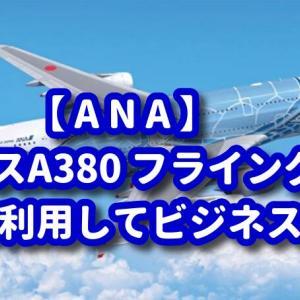 【ANA】A380-フライング・ホヌのビジネスクラスをマイル利用で発券!【SKYコイン】