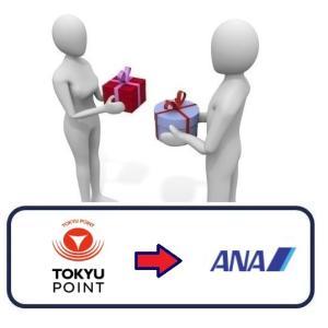 【ANAマイル】「TOKYU POINT(東急ポイント)」から「ANAマイル」への交換方法を解説!【東急(TOKYU)ルート】