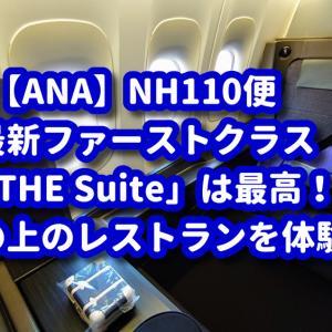 【ANA】最新ファーストクラス「THE Suite」に搭乗♪家族4人で空中レストラン!【NH110便】