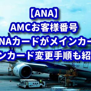 【ANA】ANAカード複数発行している場合のメインカードの正解とは?メインカードの登録方法も紹介します。