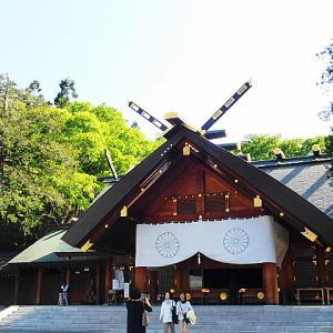 快晴続きの北海道旅行。北海道神宮へお参りしてきました。