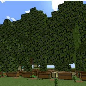 コンピュータークラフト 複数タートルでの自動植林