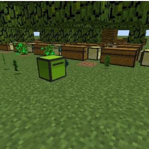 コンピュータークラフト 複数タートルでの自動植林 プログラム6