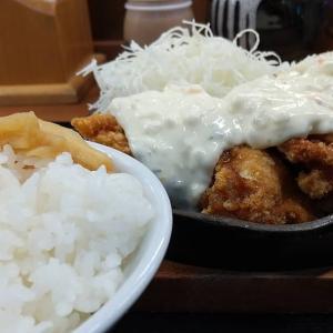 【東京都】からやまの鉄板チキン南蛮定食