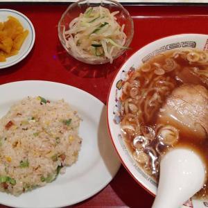 【東京都】味の元のラーメンと半炒飯