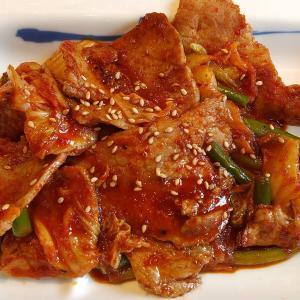 【東京都】松屋の豚キムチ定食ライス特盛