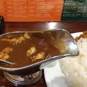 【東京都】カルカリ新橋本店の印度カレーライス大盛