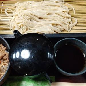 【東京都】生そば玉川のもりそばとミニ牛丼のセット