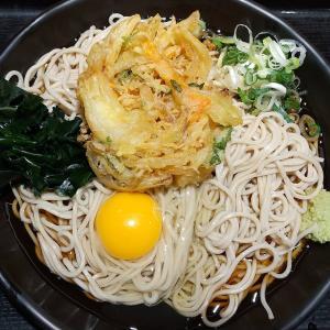 【東京都】吉そばの天玉そば(冷)麺大盛