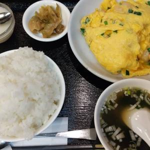 【東京都】海老専家の海老と玉子炒めの定食