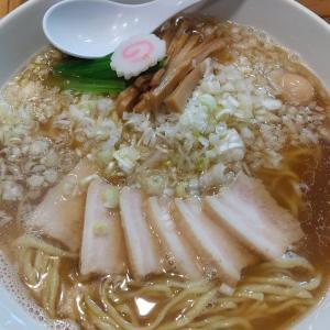 【東京都】銀座朧月の中華そば麺大盛