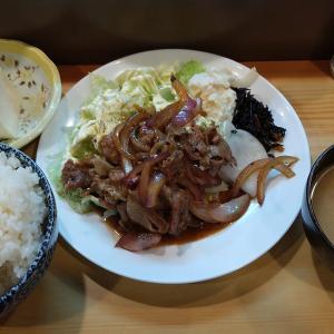 【東京都】食事処うしおの豚焼肉定食