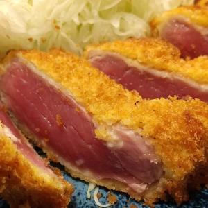 【銀座】牛かつおか田の牛ロースランチかつセット