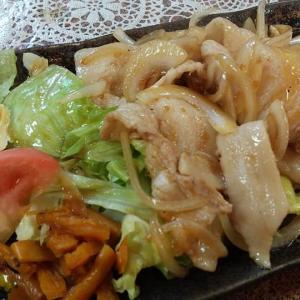【板橋区】丸鶴の生姜焼き定食ご飯大盛