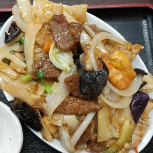 【板橋区】喜龍園の五目うま煮定食ご飯大盛