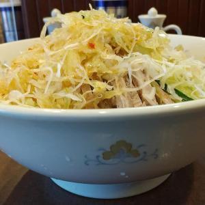 【目黒区】中国料理 鶏舎の冷やし葱そば葱大盛麺大盛