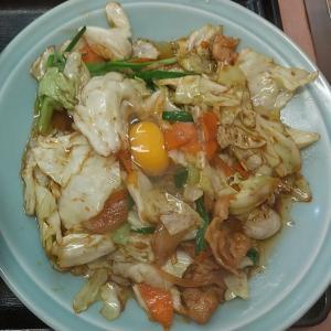 【池袋】野菜と肉のタレ焼き定食ライス大盛