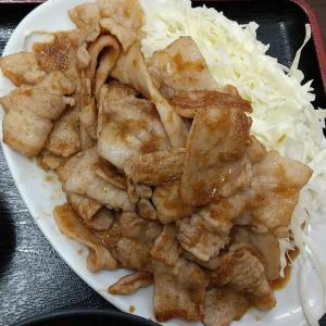 【板橋区】喜龍園の焼肉定食ご飯大盛