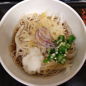 【東京都】小諸そばの健康オ野菜ぶっかけそば(オクラ・オニサラ・オロシ)