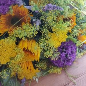 先週のお花のお届け(父の日)