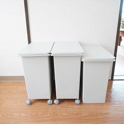意外に大容量!無印のゴミ箱にアレを収納してみた!!