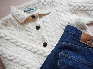 冬服買った!今年から「アランニット」を身に纏ふ。