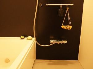 お風呂場のミニマム化、完了!これで安心してバスタイムを楽しめる。