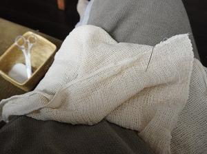 プラスチックフリーな洗濯ネットを作ってみた!