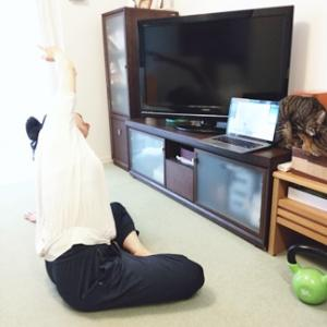 オンラインヨガ♡呼吸に合わせるフローヨガ