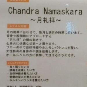 Chandra namaskara~月礼拝~